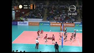Perú vs República Dominicana - Voley Final Four sub 20