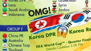 ASIA & MIDDLE EAST TEAMS ONLY   WORLD CUP 2018 (Scenario/ Predictions)