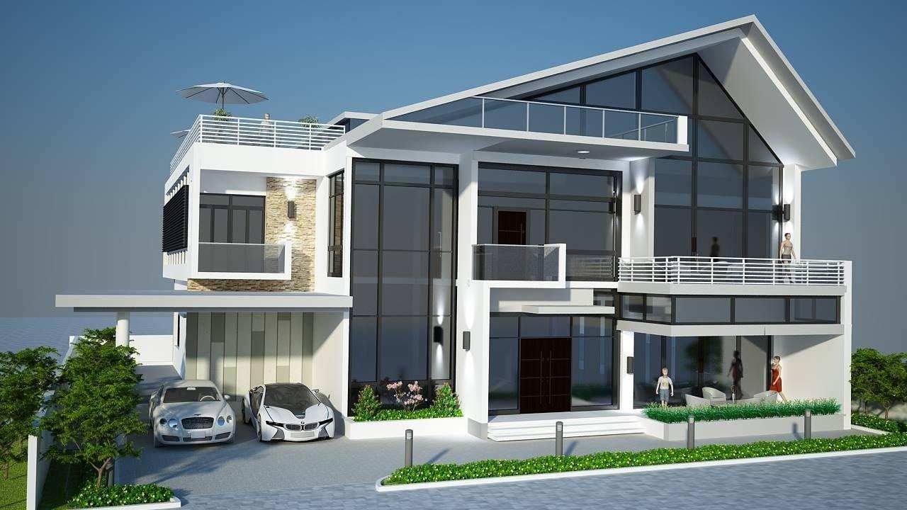 villa exterior vray lighting tutorial in autodesk maya part 2
