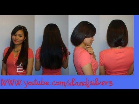 Hướng dẫn tóc: Cách làm tóc dài thành tóc ngắn trong vài phút