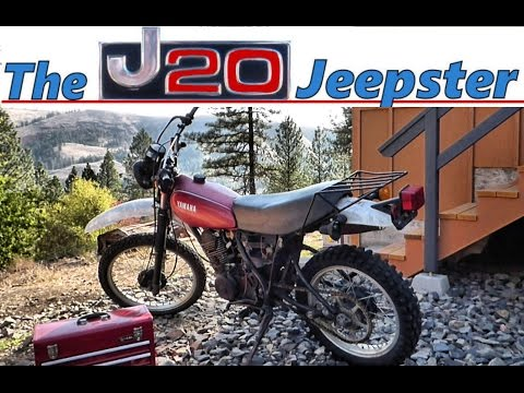 81 Yamaha XT250 Carburetor Clean