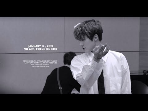190112 [4K] 대구 팬사인회 직캠 'NO AIR' THE BOYZ ERIC focus