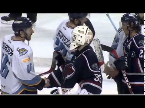 South Carolina Stingrays - Joe Devin Scores Winning Goal in Game 7 of Conference Finals