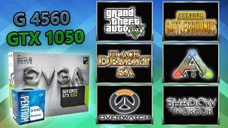 PC Gamer Barato (Pentium G4560 + GTX 1050 2GB) 6 Games Full HD 1080p Benchmarks
