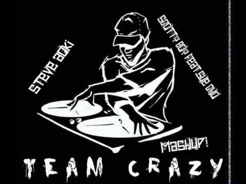 Steve Aoki & DJ Scotty Boy ft Cho - Team Krazy Mashup