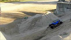 sand pile demolition