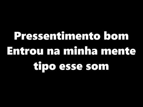 Gaab e MC Livinho - Pressentimento LETRA  Pressentimento Bom