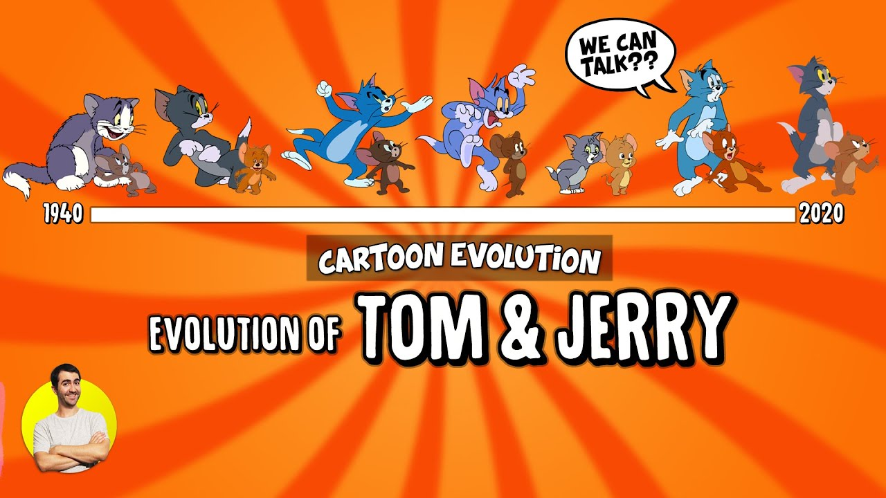 Evolution of TOM AND JERRY Over 80 Years (1940-2020) Explained
