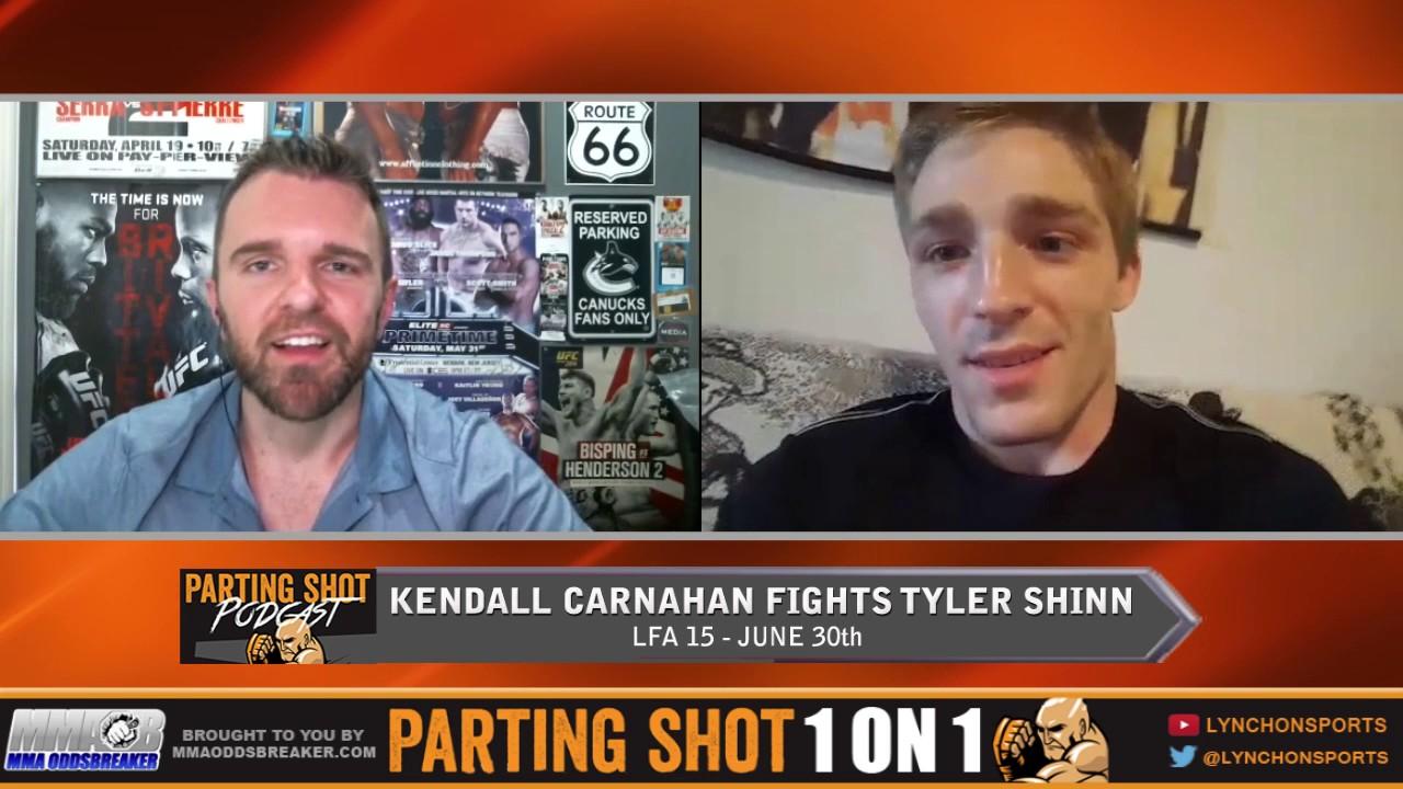 LFA 15's Kendall Carnahan talks Tyler Shinn, training at AKA Thailand & working for Uber