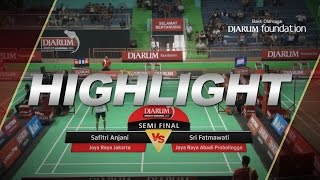 Sri Fatmawati (Jaya Raya Abadi Probolinggo) VS Safitri Anjani (Jaya Raya Jakarta)