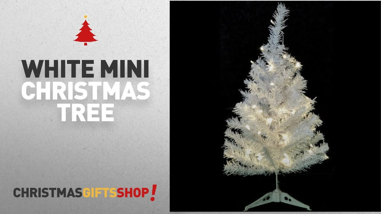 youtube premium - White Mini Christmas Tree