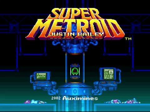 !Samus ohne Power Suit! Super Metroid Justin Bailey v0 99b Hack