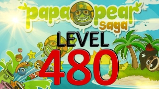 Papa Pear Saga Level 480 No Boosters