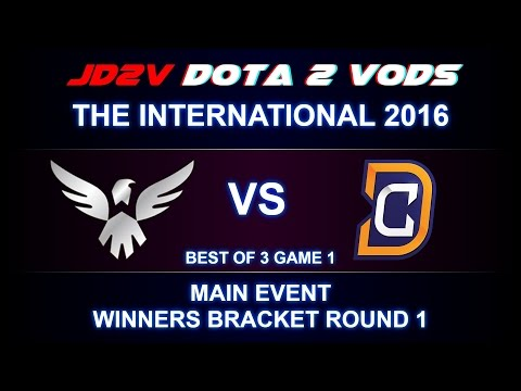 Wings vs DC TI6 The International 2016 Main event WB Round 1 Game 1 VOD DOTA 2
