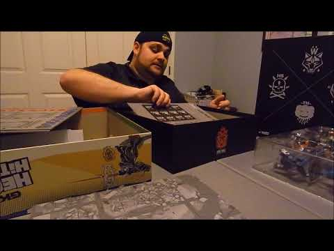GKR Heavy Hitters Unboxing Part 1