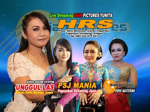Live Streaming Dianpictures Yunita - Campursari HRS - UNGGUL LAS SOUND SYSTEM Part 2