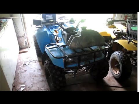 Another yamaha atv+help wont idle AND an update