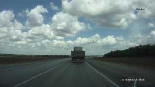 М-4 ДОН: Ағымдағы жол жөндеу учаскесінде км 877-907. Маусым 2013