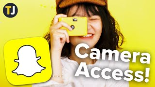 How To Enable Camera Access On Snapchat!
