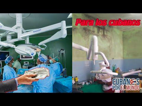 El negocio lucrativo del régimen con el sistema de salud cubano, al que el pueblo no tiene acceso