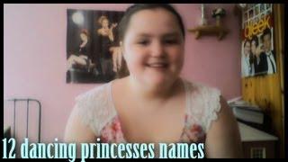 12 Dancing Princesses Names