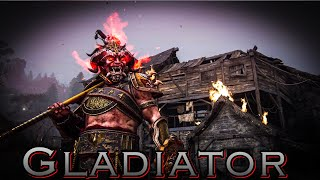 For Honor - Grand-master Rep 60 Gladiator! Infernal Dominion Anti Gank Montage!