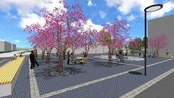 Varissuon keskuspuiston suunnitelmaluonnos 3