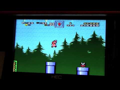 SNES: Short Playthrough: SMW Hack: Dr. Super Mario World, House Calls : Real Hardware