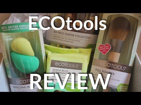 Ecotools Influenster Vox Box Review | Brushes, Sponges, Brush Cleaner,