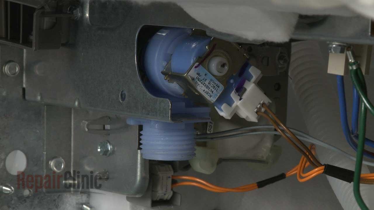 medium resolution of kitchenaid dishwasher wiring harness diagram wiring diagram forward kitchenaid dishwasher water inlet valve replacement w10872255 youtube
