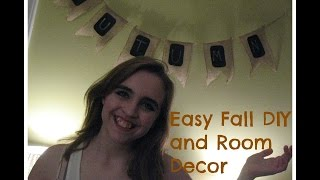Easy Fall DIY and Room Decor Thumbnail