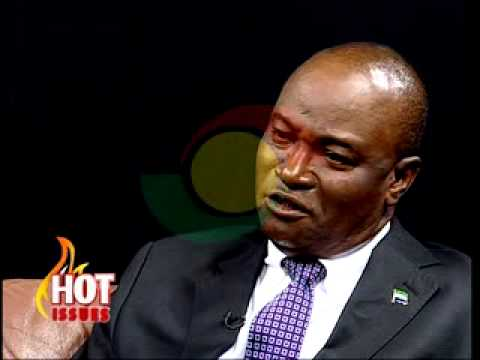 Hot Issues - with Dr. Samura Kamara  Sierra Leone Foreign Minister - 17/1/2014