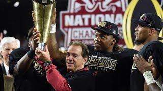 2015 Alabama Football Highlights
