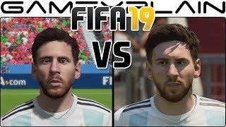 FIFA 19 Graphics Comparison - Nintendo Switch VS Xbox One