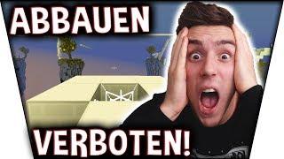 BLÖCKE ABBAUEN VERBOTEN! - #ExtremeChallenge