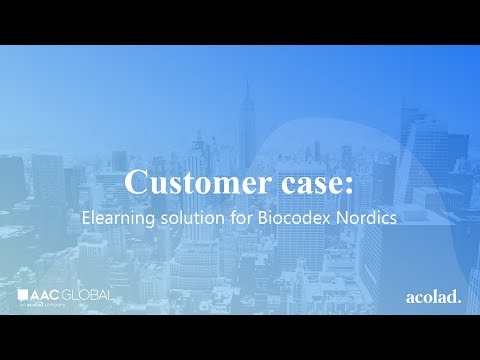 Customer case: elearning solution for Biocodex Nordics