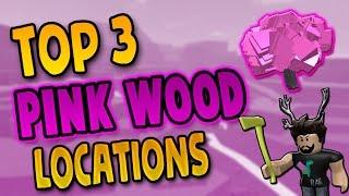 Top 3 PINK WOOD Standorte | Lumber Tycoon 2 Roblox
