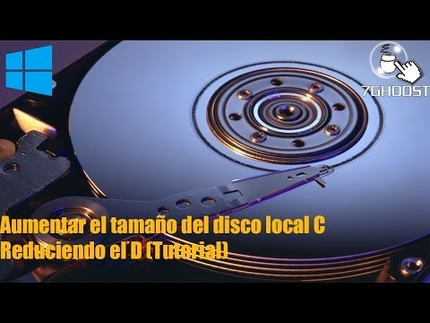 Como Aumentar el tamaño del disco local C reduciendo el D (Bien explicado - Windows)