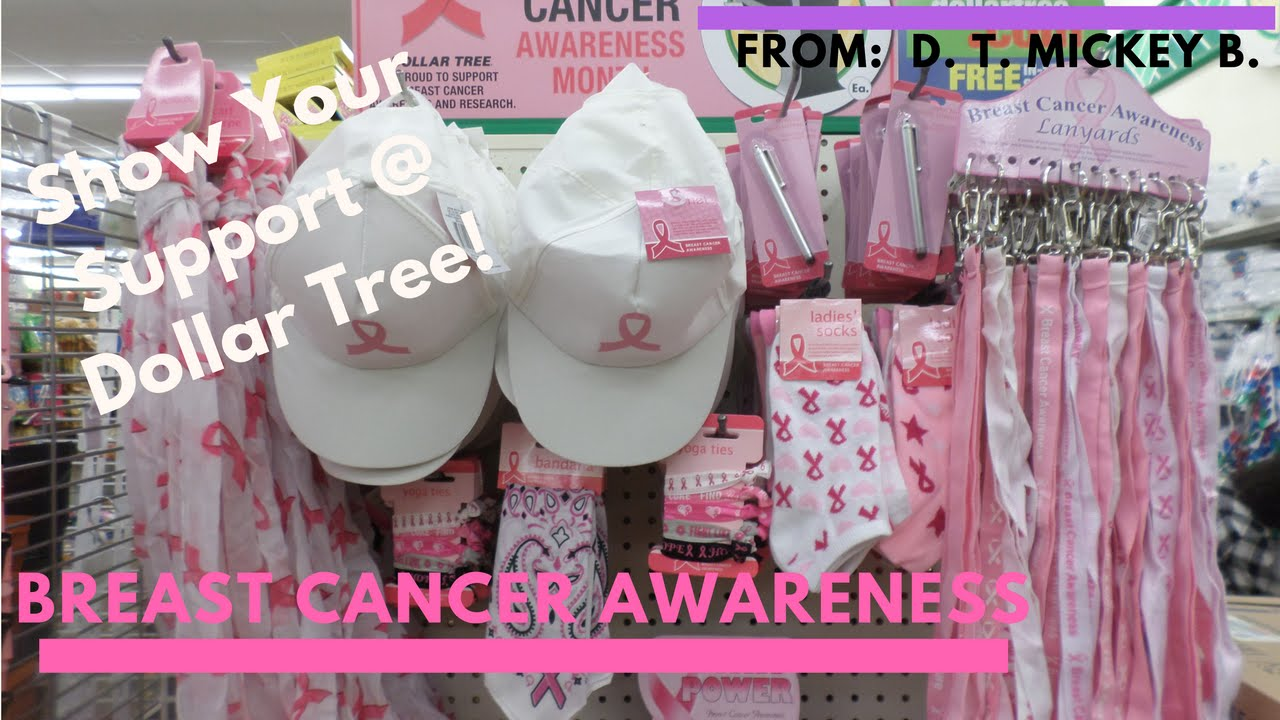 Dollar Tree Alert Quot Breast Cancer Awareness Quot Products