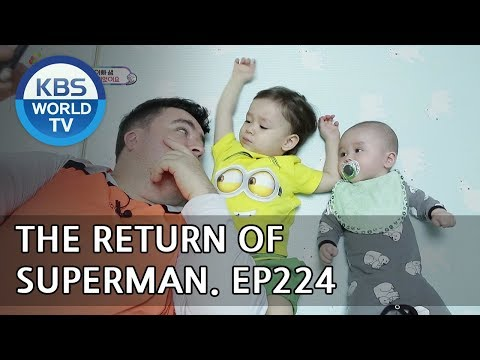 The Return of Superman|슈퍼맨이 돌아왔다-Ep.224:Dreaming Children and Fulfilling Fathers[ENG/IND/2018.05.13]