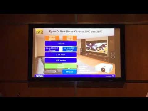 Epson Announces Home Cinema 2100 and Home Cinema 2150