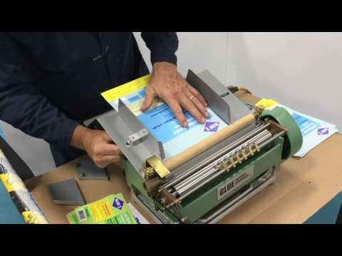 Label Gluer with Auto Feed Tech | Water-Based Adhesive Equipment | Glue Machinery Corporation