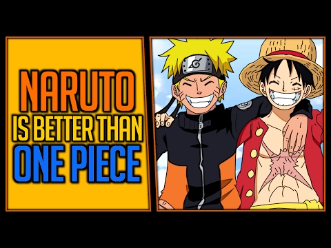 Naruto Is Better Than One Piece  | Ft. Rogersbase
