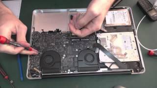 "Замена клавиатуры на MacBook Pro Unibody 15"" Mid 2010"