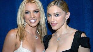 Britney spears and Madonna Carpool karaoke together