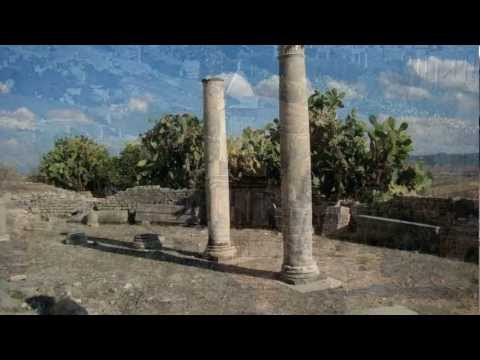 Bulla Reggia, Dougga, villes tunisiennes et romaines