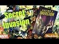 Secret Invasion Marvel Essentials Deluxe Hard Cover Unboxing Marvel Comics México