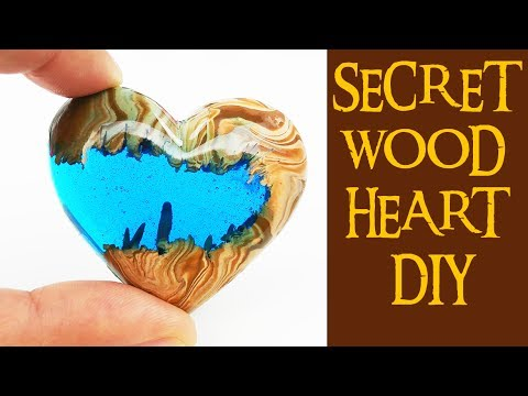 4 Secret Wood Heart Diy No Power Tools How To Make Epoxy