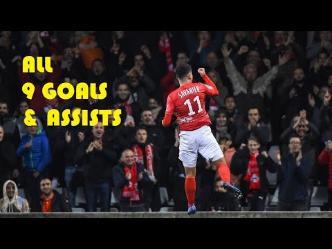 Teji Savanier - All 9 Goals & Assists - 2018/2019