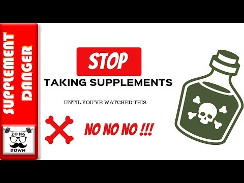 DANGERS OF SUPPLEMENTS | STOP TAKING SUPPLEMENTS UNTIL YOU WATCH THIS #supplements